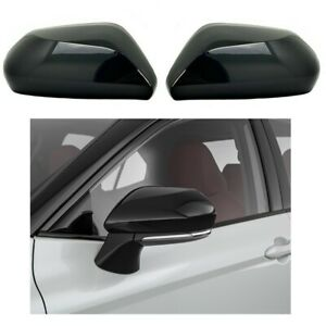 For 2018 2019 2020 2021 2022 Toyota Camry Gloss Black Side Mirror Covers Overlay