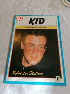 ELI KID, #8, YOUR ENGLISH MONTHLY, SYLVESTER STALLONE ON COVER.