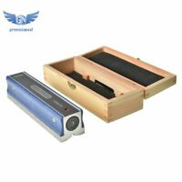"""8"""" Master Precision Level in Fitted Wooden Box For Machinist Tool 0.0002''/10''"""