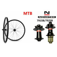 26er Carbon MTB wheels 30mm Wide Mountain bicycle wheelset NOVATEC D791/D792 hub