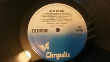 blondie  eat to the beat  1979 uk issue lp 1st pressing superb copy
