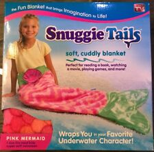 Snuggie® Tails™ for Kids- Enchanted Pink Mermaid Pink Blanket NEW / QUICK SHIP