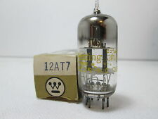 NOS Westinghouse 12AT7 ECC81 Black Preamp Vacuum Tube Tested #10.444