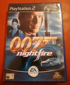 SONY PS2 GAME JAMES BOND 007 NIGHTFIRE COMPLETE NICE CONDITION PLAYSTATION 2 11+