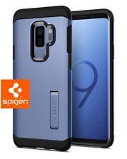 Samsung Galaxy S9 Plus Case - Genuine Spigen [Tough Armor] Cover - Coral Blue