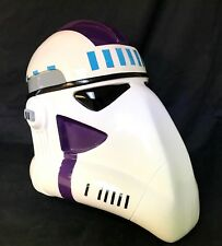 Clone trooper galactic marine cmndr helmet kit prop for star wars collectors
