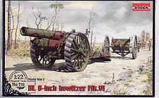Roden WWI BL 8-inch Howitzer Mk. VI in 1/72 716 ST