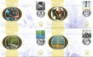 2000 Stone & Soil FDC Benham BS25-28 Limited Edition Millennium Collection