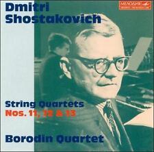Shostakovich, Dmitry Shostakovich: String Quartets Nos. 11-13