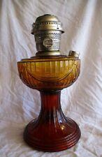 Aladdin Lamp Amber SLD New 74 Model C Nickle Burner Wick Coleman Lantern Lincoln