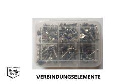PT-Schrauben Sortiment Senkkopf mit Kreuzschlitz Ø 4,0 125 Teile EDELSTAHL A2