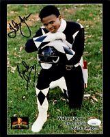 WALTER JONES Signed MIGHTY MORPHIN POWER RANGERS 8x10 Photo Autograph JSA COA