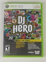 DJ Hero Microsoft Xbox 360 2009