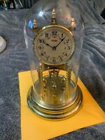 Vintage Kundo Mantle Shelf Dome Clock Made In West Germany *USED*