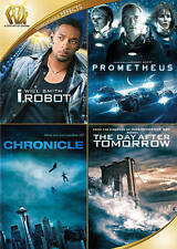 I Robot/Prometheus/Chronicle/The Day After Tomorrow (DVD, 2015, 4-Disc Set) New