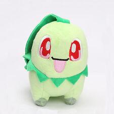 Mini Vivid Pokemon Go Chikorita Stuffed Figure Plush Doll Toy Birthday Gift