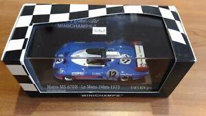 Matra MS 670 B #12 Le Mans 1973 1:43 Minichamps 430731112