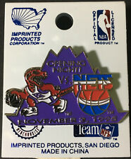 1995 Toronto Raptors NBA Basketball Pin Opening Night Inaugural Season 1st Game