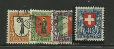 SVIZZERA - 043 - 1923 - PRO JUVENTUTE - NR. 192/95 - SERIE COMPLETA