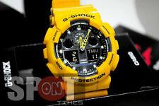 Casio G-Shock World Time Alarm Men's Watch GA-100A-9A  GA100A 9