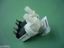 Ventil Magnetventil Elektroventil 2fach 2er 180° für Waschmaschine NEU