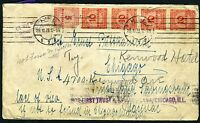 GERMANY KIEL 10/29/23 COVER TO CHICAGO 11/15/23 READDRESSED AS SHOWN
