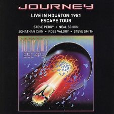 JOURNEY-LIVE IN HOUSTON 1981: ESCAPE TOUR CD (LIGHTS/STONE IN LOVE/OPEN ARMS)