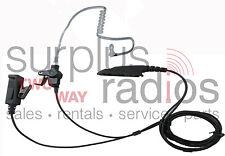 2 WIRE FBI STYLE HEADSET FOR MOTOROLA RADIOS HT750 HT1250 HT1250LS MTX850 MTX950