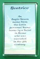 Meaning of Female First Name Large size 7.5 x 5 Fridge Magnet! *Great Gift Idea*