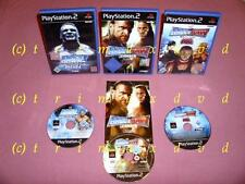 3x PS2 _ Smackdown Here Comes The Pain & Smackdown vs RAW 2008 & Smackdown 2009