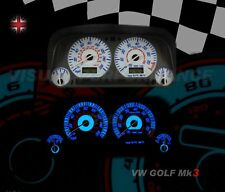 fits Volkswagen golf mk3 GTI VR6 speedo dash white lighting dial kit upgrade