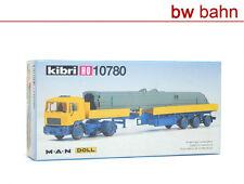 Kibri H0 Bausatz 10780 MAN Zugmaschine mit DOLL Sattelaufleger und Ladung Neu