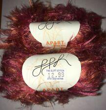 Ggh Apart Color, Color 103 Rust Tweed.Long Hair. 1 set of 2 balls.