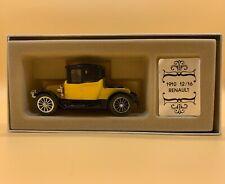 Corgi Collectors' Classics 1910 Yellow 12/16 Renault C862 Diecast LE Car