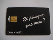 PHONECARD TELECARTE ARMEE DE TERRE EMPLOI 1997