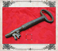 Antica Chiave Italiana in ferro Quadrata-323-Ancient key-Llave-Clef-Schlüssel