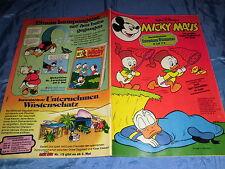 MICKY MAUS , 30. April 1977 , Nr. 18 , mit Bastelteil , ehapa  Comics