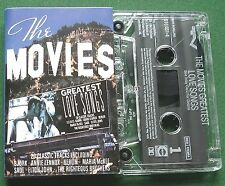 The Movies Greatest Love Songs Bjork Berlin Sade Enya + Cassette Tape - TESTED