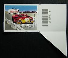 Italia 2016 Targa Florio  singolo  dx codice a barre   1742