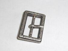 Gürtelschnalle Schließe Schnalle Verschluss  2 cm altsilber NEU rostfrei 0238