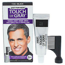 JUST FOR MEN Touch of Gray Hair Treatment T-55 Black