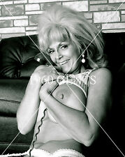 1960s NUDE 8X10 PHOTO BUSTY BIG NIPPLES PINUP CANDY SAMPLES FROM ORIGINAL NEG-2