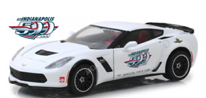 1/24 Greenlight Chevrolet Corvette Z06 2015 Indianapolis 500 Pace Car Neuf