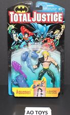 Aquaman Total Justice DC with Blasting hydro spear 1996 Kenner Hasbro New