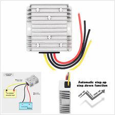 Car Power Automatic Voltage Stabilizer Regulator 8-40V to 12V 6A 72W Convert Kit