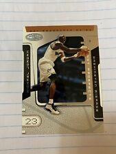 michael jordan hot prospects 2002 Near Mint Washington Wizards NBA card Fleer