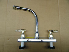 "RV/Camper/Trailer - 8"" Kitchen Faucet, CHROME"