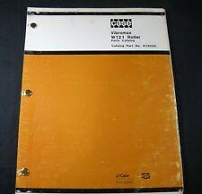 CASE Vibromax W121 Drum Roller Compactor Diesel Engine Parts Manual Book Catalog