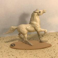 Hagen Renaker Porcelain Vintage Model Horse Figurine Statue White Stallion Mare