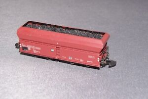 MARKLIN GERMAN DOUBLE BOGIE HOPPER COAL WAGON  - Z Gauge